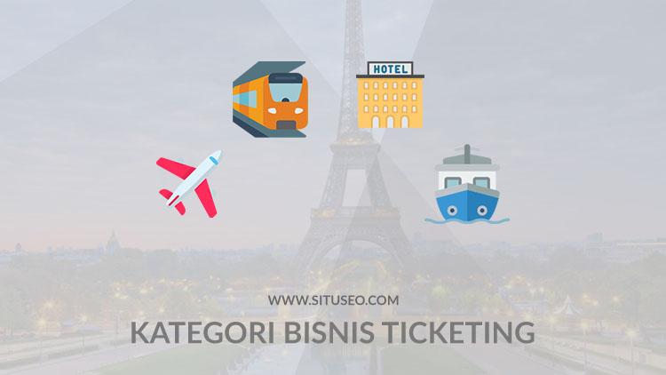 Kategori bisnis ticketing