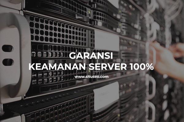 garansi keamanan server