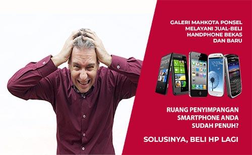 Ilustrasi Smartphone Low Budget