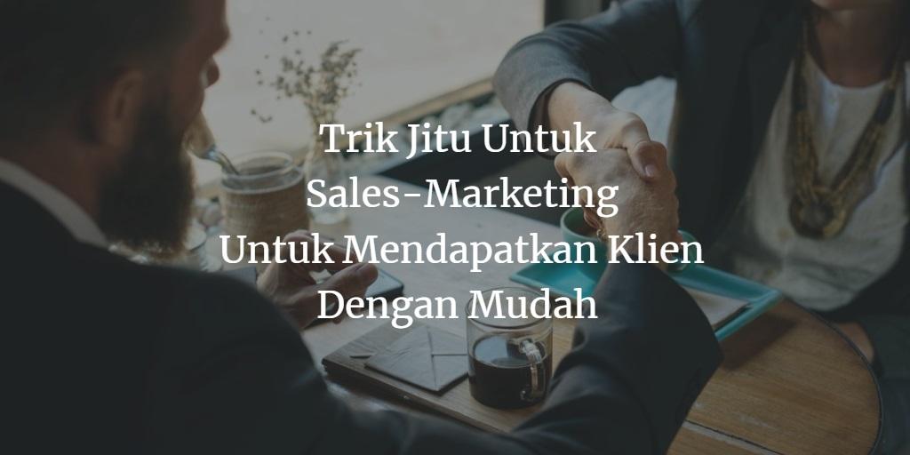 Jasa Pembuatan Website Sales