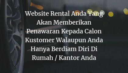 Pembuatan Website Rental Mobil