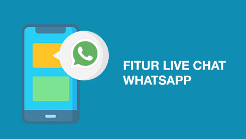 fitur live chat whatsapp